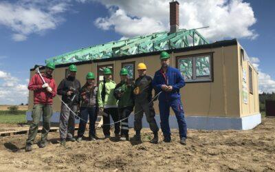Teambuilding na dřevostavbě